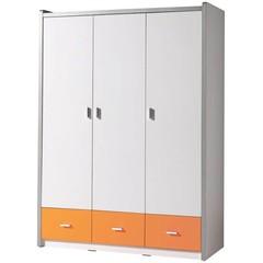 Bonny 3 deurs kledingkast oranje