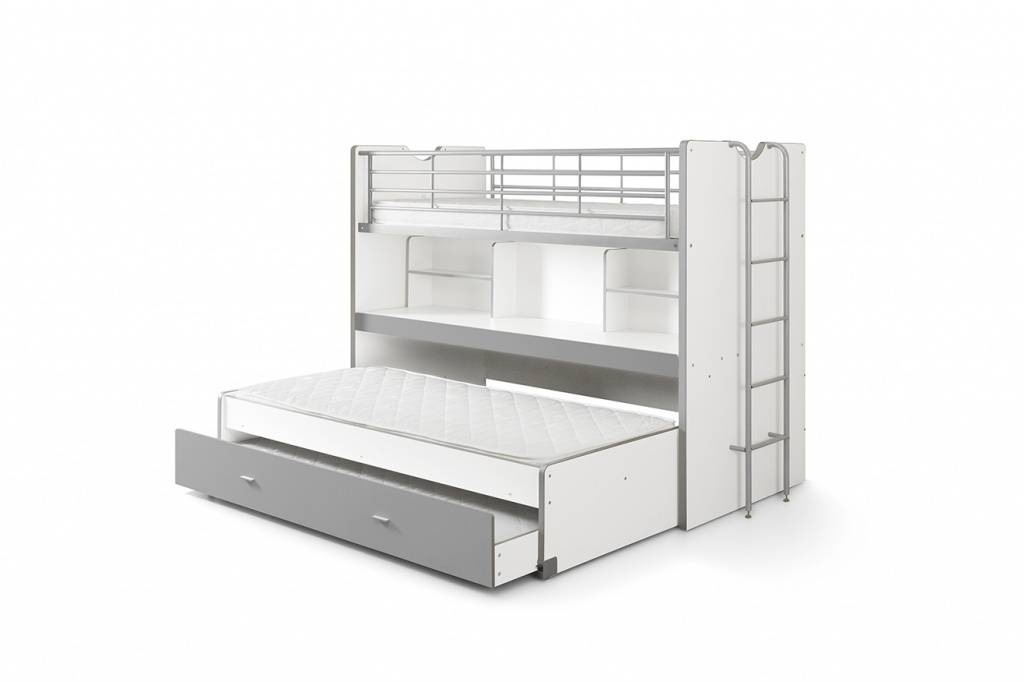 Vipack Bonny stapelbed zilver (90 x 200)