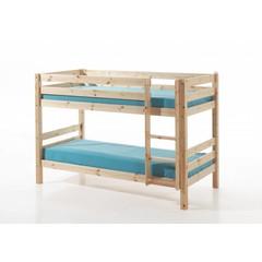 Pino stapelbed houtkleur