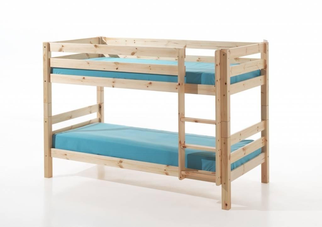 Vipack Pino stapelbed houtkleur