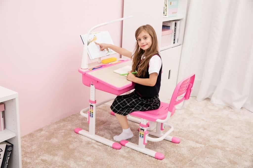 Vipack Kinderbureau roze