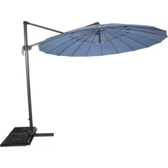 Zweefparasol Shanghai blueberry grey