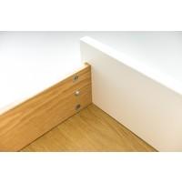 Tenzo Tenzo Bess tv meubel wit 2 deuren