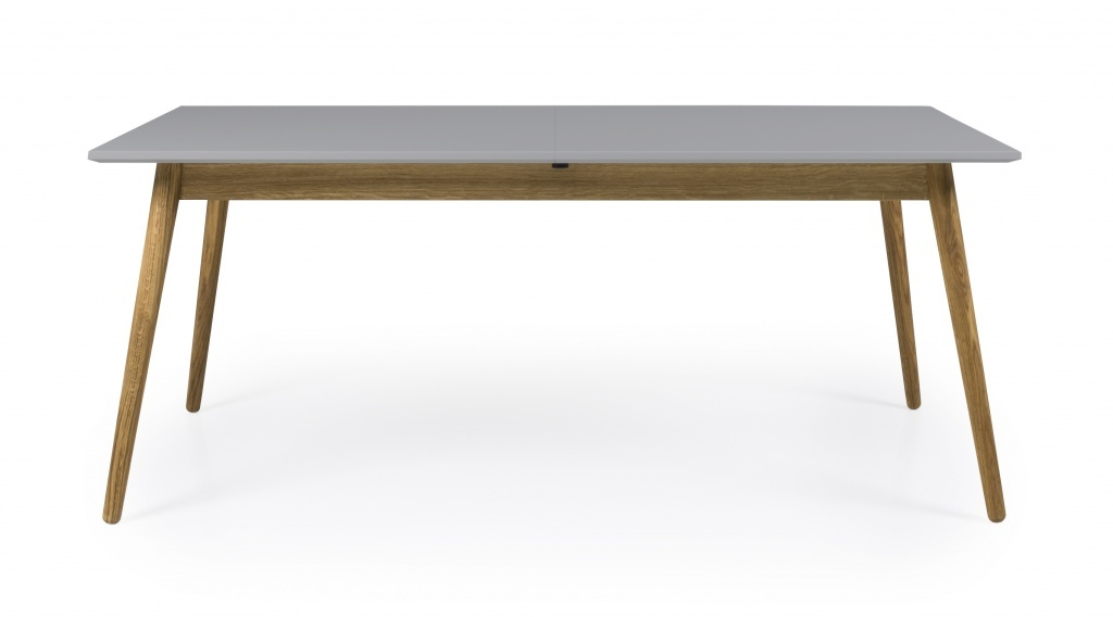 Tenzo Tenzo eetkamertafel Dot grijs 160 cm