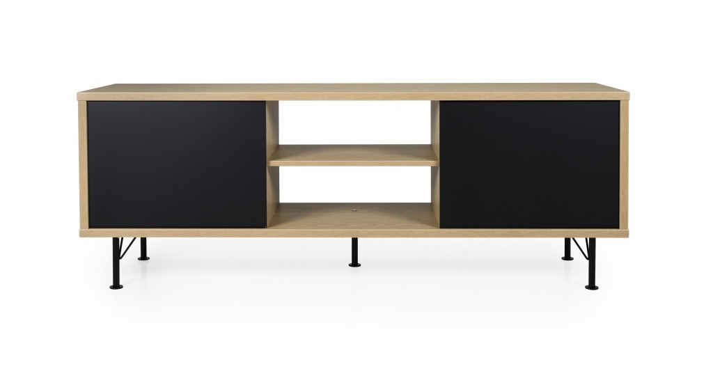 Tenzo Tenzo Flow tv meubel zwart