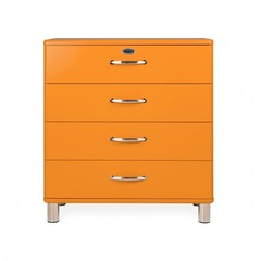 Tenzo Malibu ladekast breed oranje