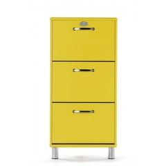 Tenzo Malibu schoenenkast geel