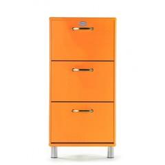 Tenzo Malibu schoenenkast oranje