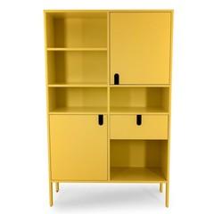 Tenzo Uno wandkast geel 2 deuren