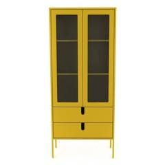 Tenzo Uno vitrinekast large geel