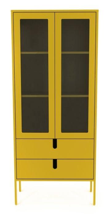 Tenzo Tenzo Uno vitrinekast large geel