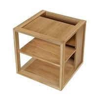Woodman Sidetable Cube eiken