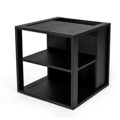 Sidetable Cube zwart