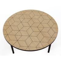 Woodman Salontafel Arty 70 cm triangle
