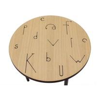 Woodman Salontafel Arty 50 cm letter