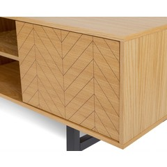 TV meubel Camden Herringbone