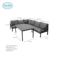 Sens-Line Loungeset Brandon