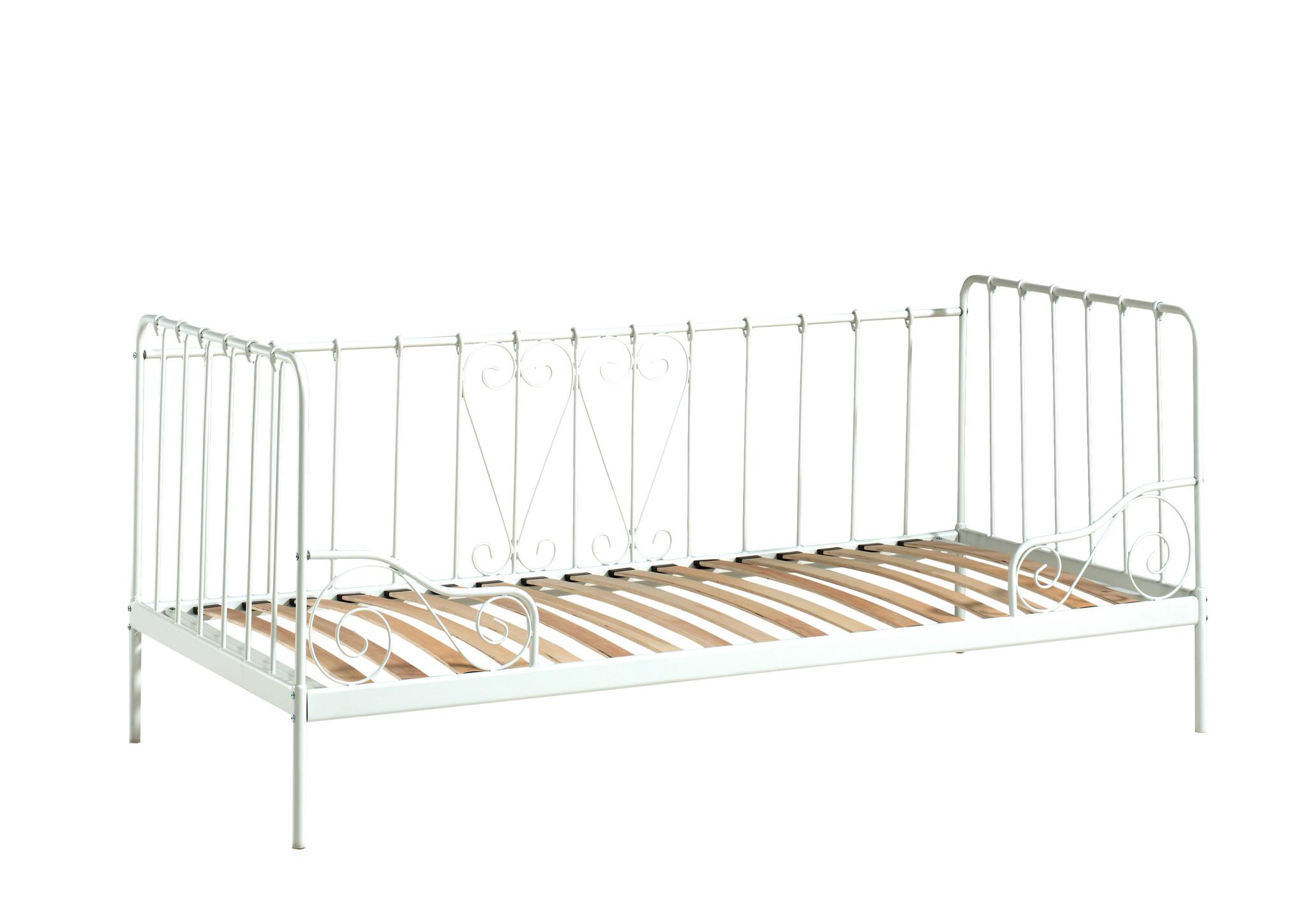 Vipack Eenpersoonsbed Àlice wit (90 x 200)