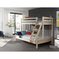 Vipack Familiebed Pino bruin