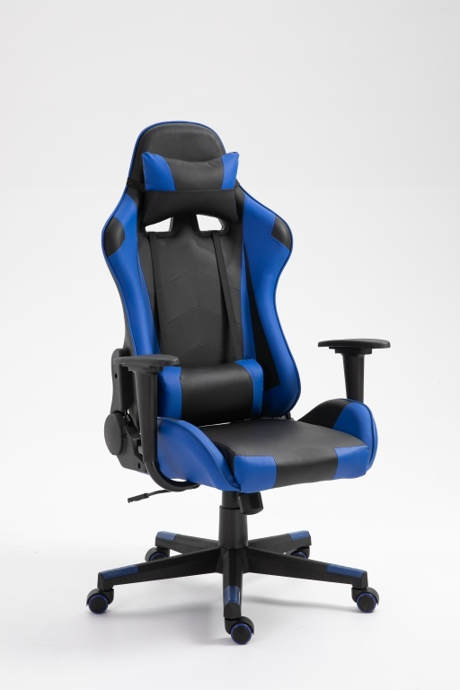 Gamingstoel  Eric blauw/zwart