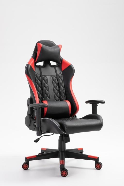 Gamingstoel Taylor rood/zwart