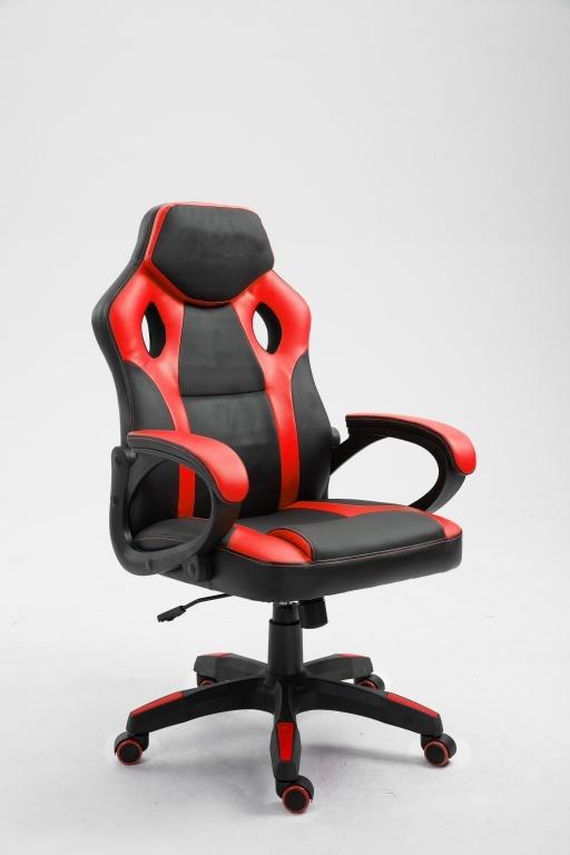 Gamingstoel Spike rood/zwart