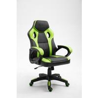 Gamingstoel Spike groen/zwart