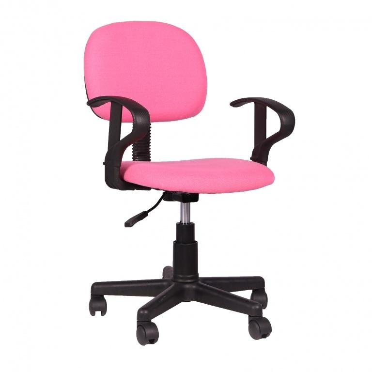 Bureaustoel Happy roze