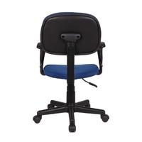 Bureaustoel Happy blauw
