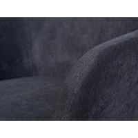 Eetkamerstoel Trelleborg donkergrijs set van 2