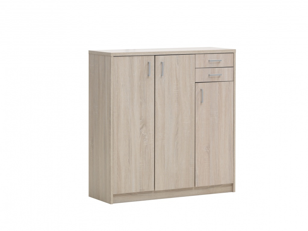 Commode 3-2 Spacio sonoma eik