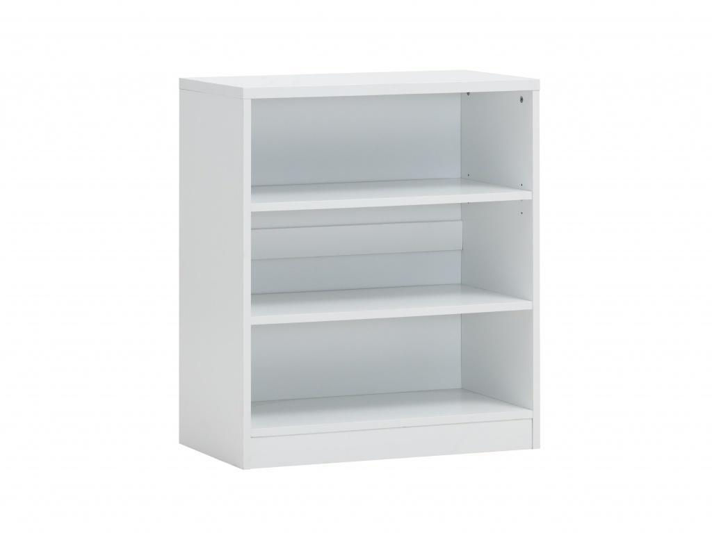 Boekenkast 2 Spacio wit