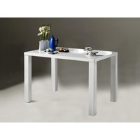 Eetkamertafel Elisa 120 x 80 cm hoogglans wit
