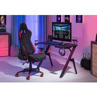 Bureaustoel Gaming rood
