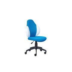 Bureaustoel Jessi blauw