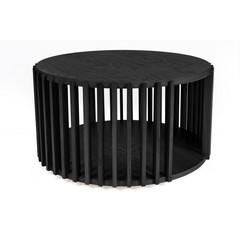 Salontafel Drum zwart