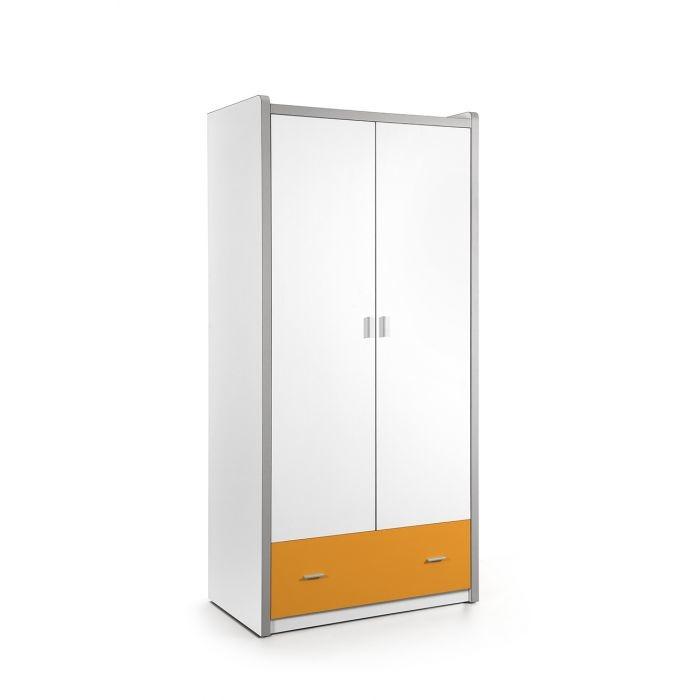 Vipack Bonny 2 deurs kledingkast oranje