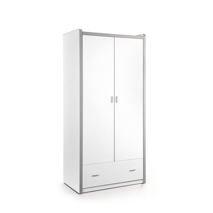 Vipack Bonny 2 deurs kledingkast wit