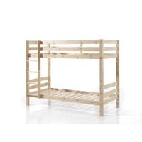 Vipack Pino stapelbed houtkleur 160 cm hoog