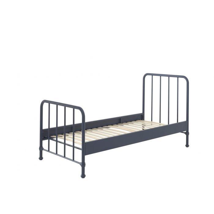 Vipack Bed Bronxx blauw