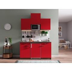 Keukenblok Oliver 150 cm rood