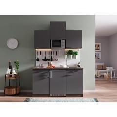 Keukenblok Oliver 150 cm grijs