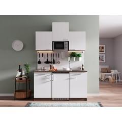Keukenblok Oliver 150 cm wit