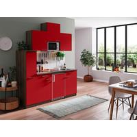 Respekta Keuken Oliver 180 cm rood