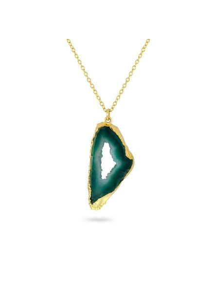 Necklace - Shiva Green