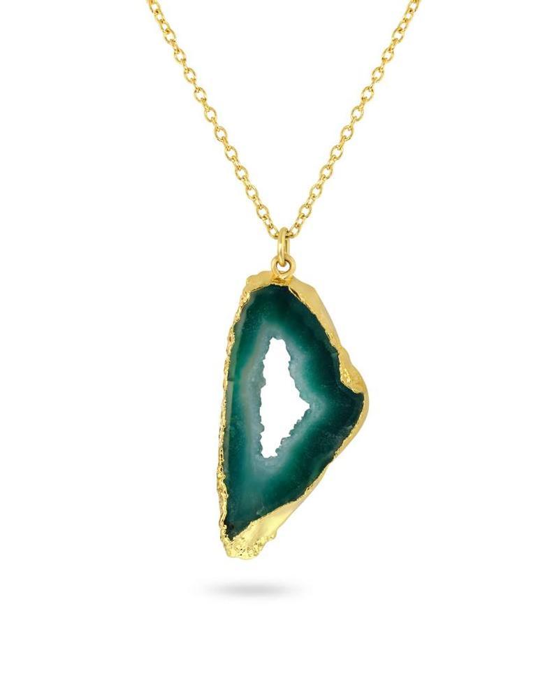 Necklace - Shiva Green