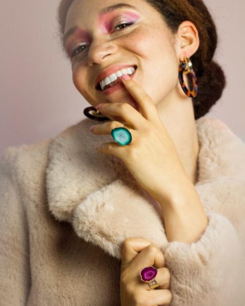 Ring - Deva Pink
