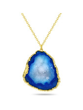 Necklace - Amala Blue