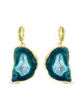 Earrings - Amala Green