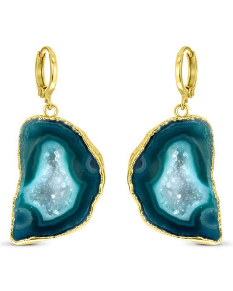 Earrings - Amala Green
